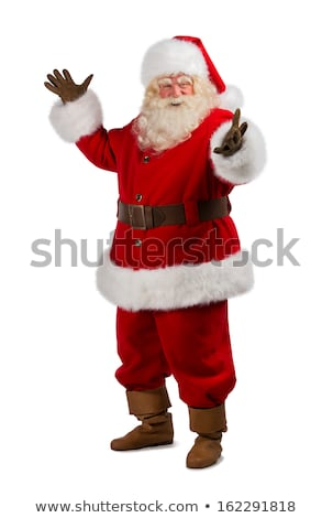 santa claus pointing pointing at something stock photo © kirill_m