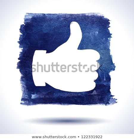 grunge social media stamp stock photo © burakowski