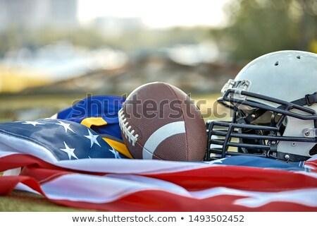 Simbólico americano futebol bola Foto stock © Winner