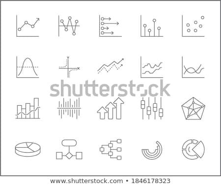 Diagrammes graphiques autre infographie dessin dessins Photo stock © stevanovicigor