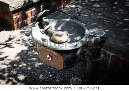 Antique waterfountain Stock photo © Hofmeester