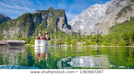 Lake Obersee with Watzmann Stock photo © w20er