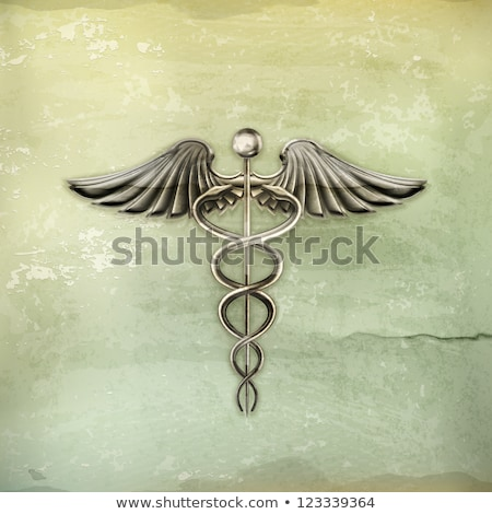 grunge style medical background stock photo © lizard