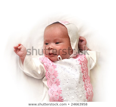 newborn femaly baby stock photo © mikko