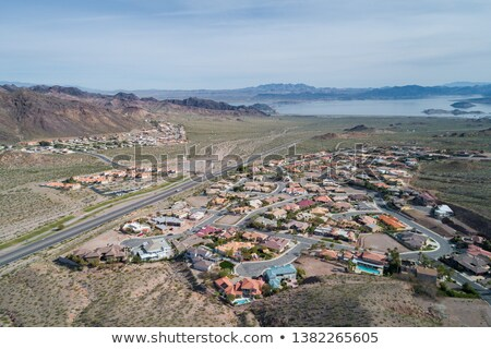 Boulder City suburbs Nevada. Stock photo © Rigucci