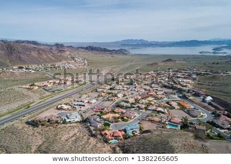 stad · Nevada · woon- · stedelijke · landschap · bloemen - stockfoto © Rigucci