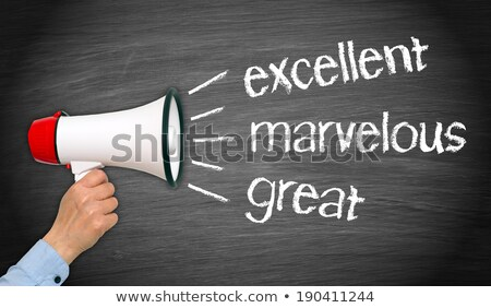You done a fantastic job. Stock photo © stockyimages