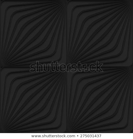 黒 3D 対角線 タマネギ シームレス ストックフォト © Zebra-Finch