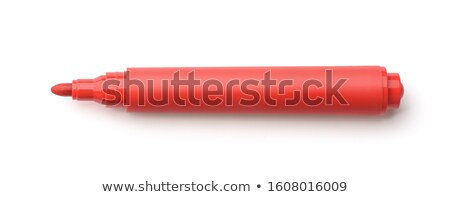 school red marker stock photo © ivelin
