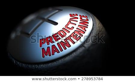 Corrective Maintenance. Shift Knob. Concept of Influence. Stock photo © tashatuvango