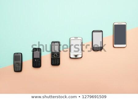 Evolução pda velho rádio tecnologia Foto stock © devulderj