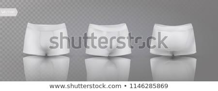 Black men's Boxer briefs Stock photo © ozaiachin