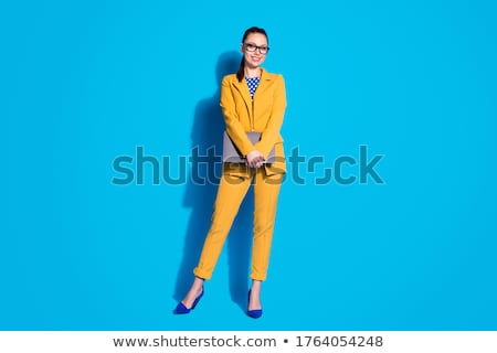 young  woman represents  dot Stock photo © Paha_L