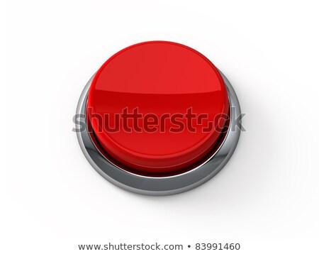 Stok fotoğraf: Durdurmak · kırmızı · klavye · düğme · erkek · parmak