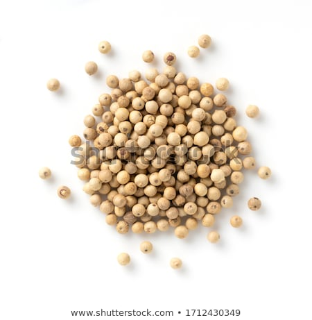 Macro closeup of a Organic White Pepper. Stock photo © ziprashantzi