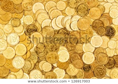 Golden coins of Ukraine Stock photo © vlad_star