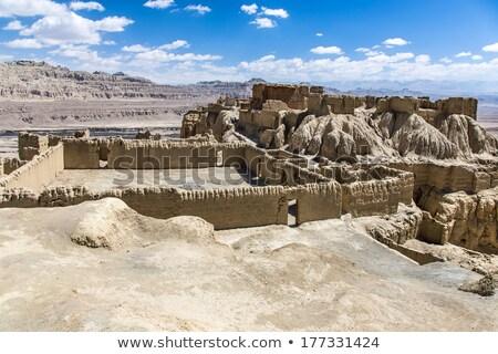 Ruins in Tibet Stock photo © bbbar