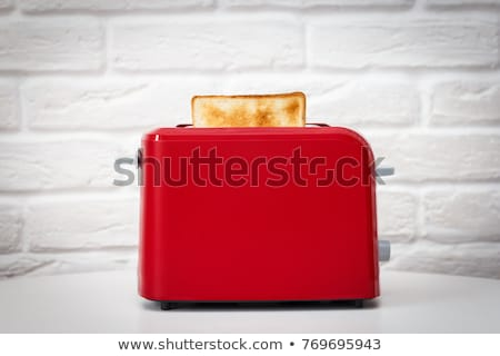 Red toaster Stock photo © bayberry