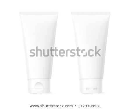 White tube for cream Stock photo © ozaiachin