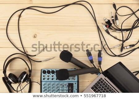 kapcsolat · kábelek · hát · számítógép · hálózat · különböző - stock fotó © luissantos84