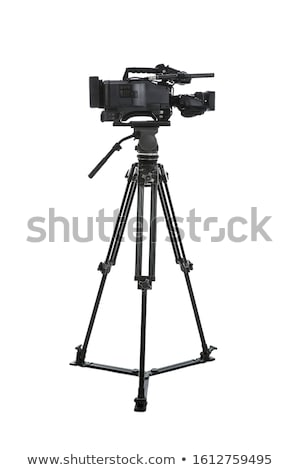 Camera tripod (stand) isolated on white background Stock photo © kayros