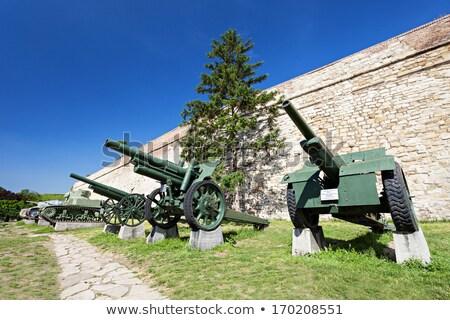 Military museum  in Belgrade Stock photo © simply
