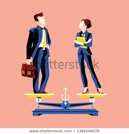 gender parity concept Stock photo © nito