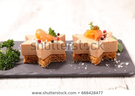 Toast Brot Weihnachten Urlaub Esszimmer Luxus Stock foto © M-studio