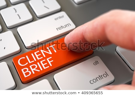 business consulting   slim aluminum keyboard concept stock photo © tashatuvango