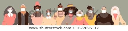 spa · vrouw · masker · gezicht · schone · persoon - stockfoto © NikoDzhi