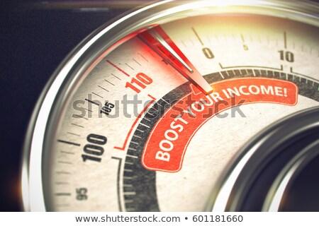 erősítés · jövedelem · absztrakt · háttér · pénzügy · adat - stock fotó © tashatuvango