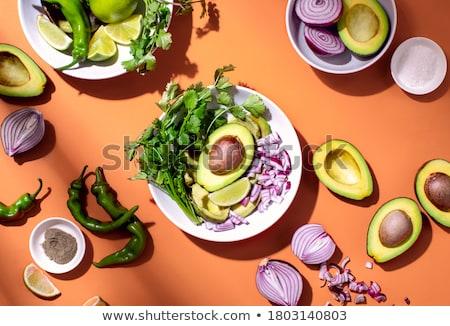 ingrediënten · collectie · aquarel · groenten · kunst - stockfoto © klsbear