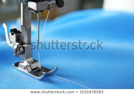 Moda disenador tela la máquina de coser negocios Foto stock © wavebreak_media
