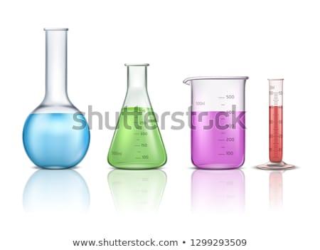 化学 液体 色 3D レンダリング 医療 ストックフォト © user_11870380