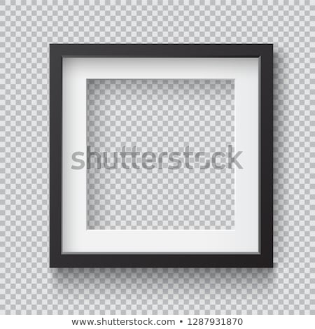 realista · photo · frame · vetor · isolado · transparente · abstrato - foto stock © romvo