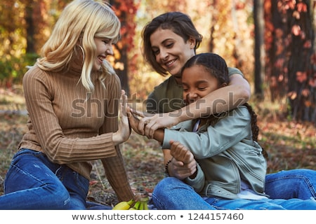 LGBT Adoption Family at the Park Stock photo © bluering