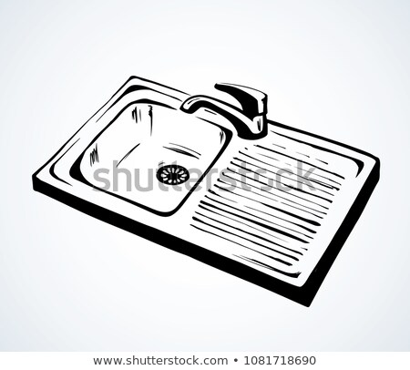 Chrome Plug In Hand Basin Stock photo © monkey_business
