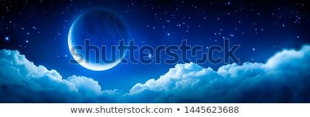 üzerinde bulut örnek gökyüzü sanat Stok fotoğraf © bluering