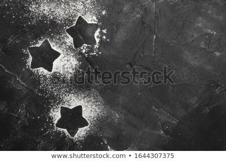 star shape pancake cutter Stock photo © FOKA