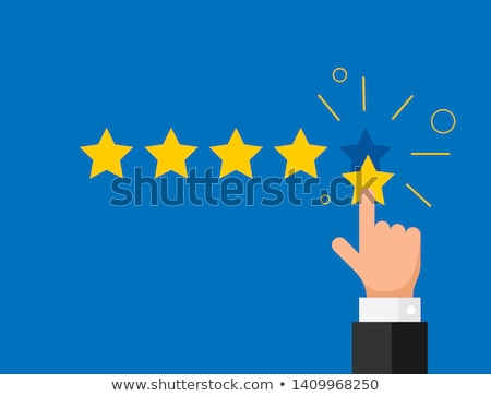 minimal star rating symbol design Stock photo © SArts