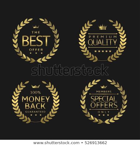 premie · merk · best · kwaliteit · keuze · gouden - stockfoto © robuart