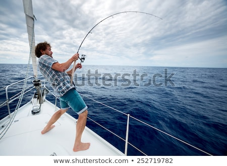 Fishing for survival. Stock photo © FER737NG