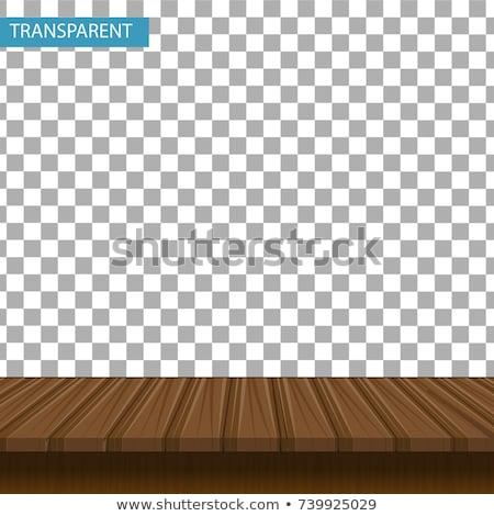 vetor · construção · velho · conselho · isolado · branco - foto stock © robuart