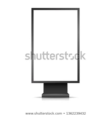 vector blank light box mockup Stock photo © TRIKONA