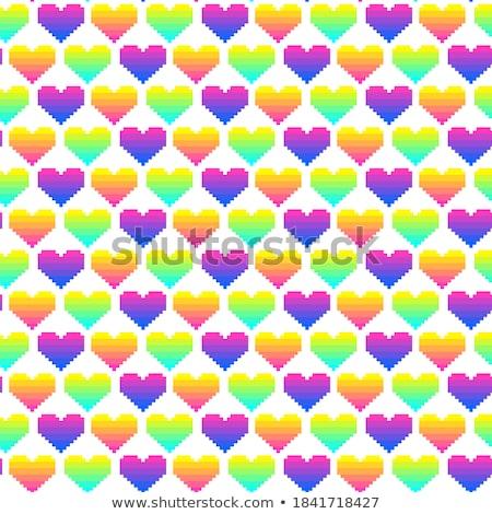 баннер Валентин ярко сердцах Сток-фото © alexaldo