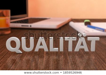 hoog · prestaties · digitale · Blauw · kleur · tekst - stockfoto © mazirama