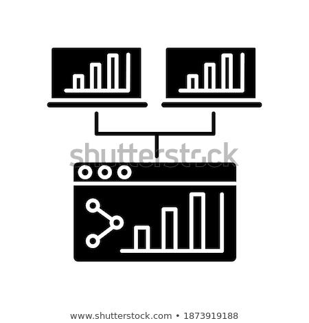 Działalności analityka informacji konferencji ludzi Zdjęcia stock © robuart