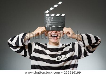 преступление · фильма · типичный · легенда · изолированный · белый - Сток-фото © elnur