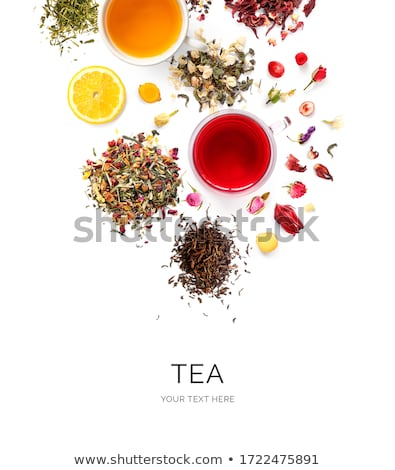 Herbal and fruit dry teas Stock photo © karandaev