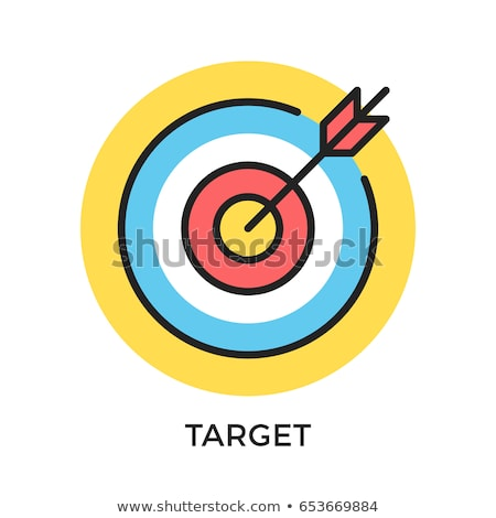 Goals and objectives concept vector illustration. Stock photo © RAStudio